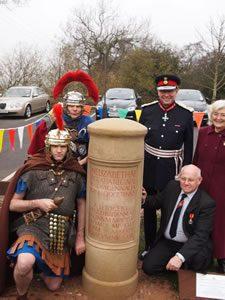 62_Centurions_x2,_Ian_Dudson_CBE_Lord_Lieutenant,_John_Crowe_Chair_Wall_PC_&_Cllr_Erica_Bayliss_(3)_fs